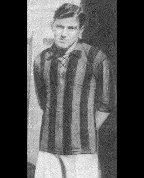 Adolfo Celli, defensor de Newell's, que jugó hasta 1925.