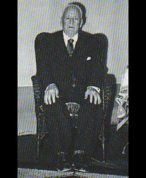 Thomas Hooper, socio fundador de Central, y el primer vicepresidente del club.